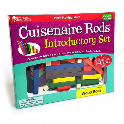 Cuisenaire Rods: Introductory Set - Wood Rods