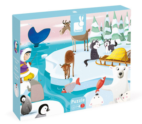 Life on Ice - tactile puzzle