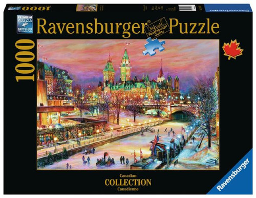1000pc Ottawa Winterlude Festival - Canadian Collection