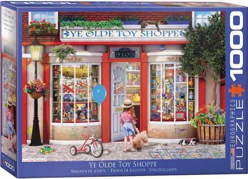 1000pc Ye Olde Toy Shoppe