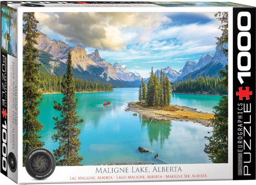 1000pc Maligne Lake, Alberta