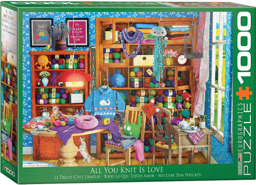 1000pc All You Knit is Love