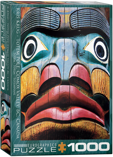 1000pc Totem Pole Comox Valley BC