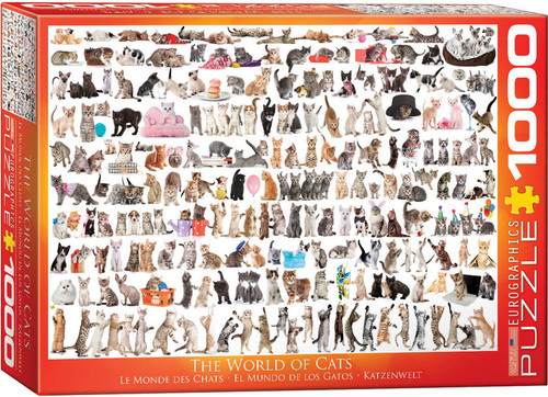 1000pc World of Cats