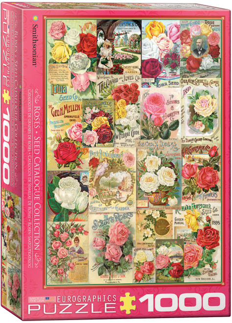 1000pc Rose Seed Catalogue Collection
