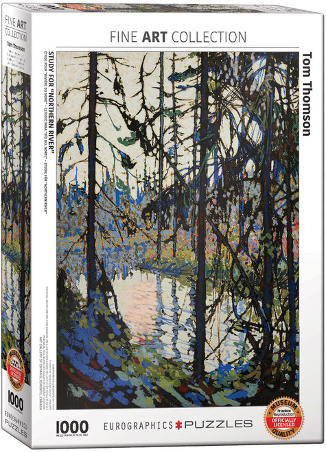 1000pc Study for Northern River