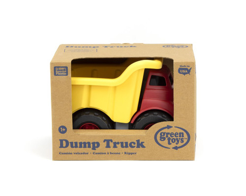 Dump Truck Red/Yellow