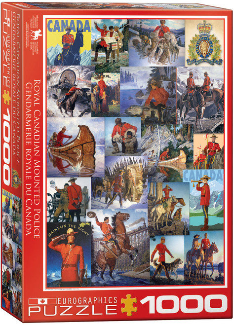 1000pc RCMP Collage