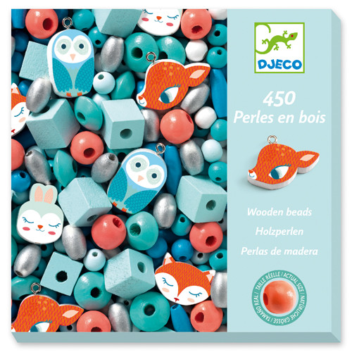 Wooden Beads - Small Animals