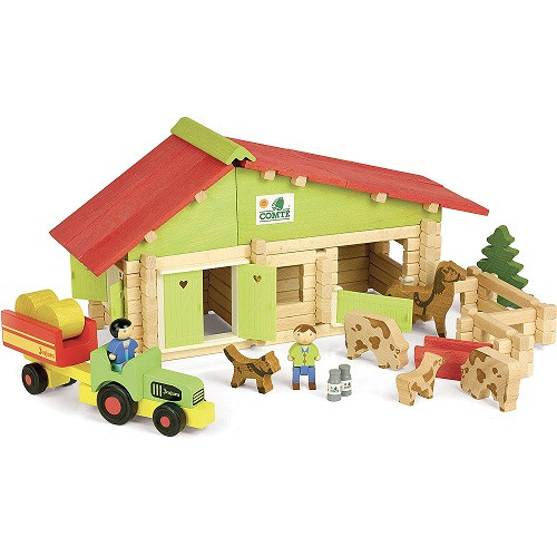 Farm with Tractor, 140 pcs