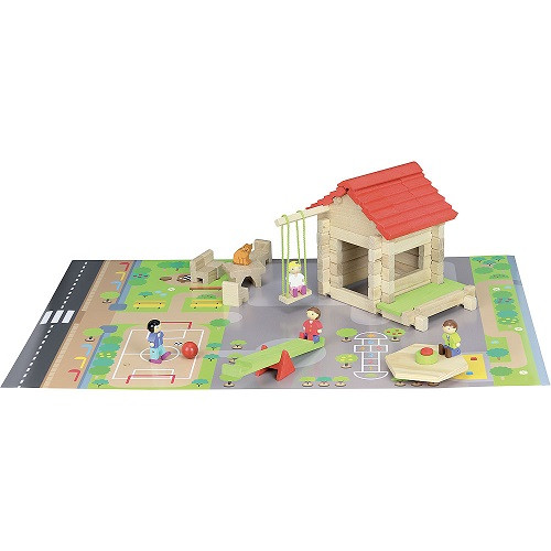 School & Playground, 77 pcs