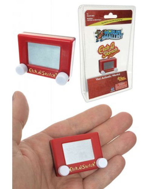 Etch A Sketch - World's Smallest