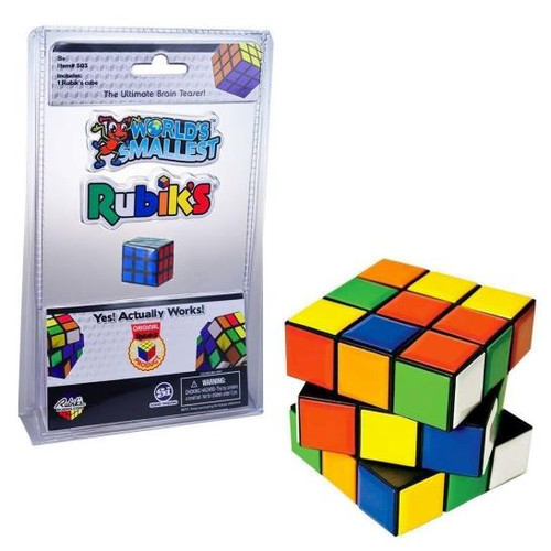 Rubik's - World's Smallest