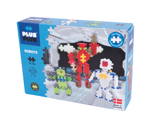 Robots - mini Basic, 170 pcs