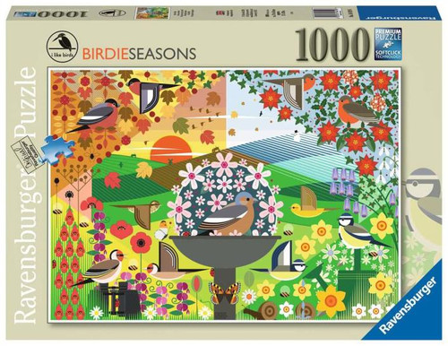 1000pc I Like Birds - Birdie Seasons