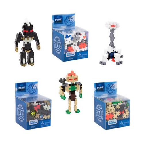 Mystery Builders Robots
