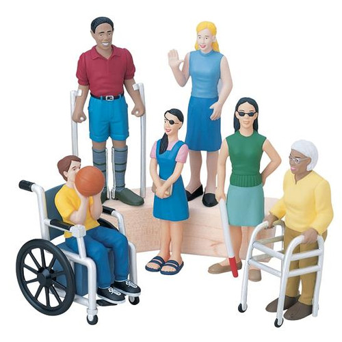 Friends with Diverse Abilities set of 6