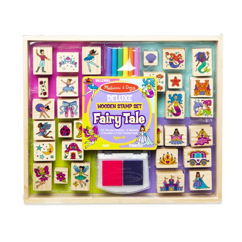Fairy Tale - Deluxe Wooden Stamp Set