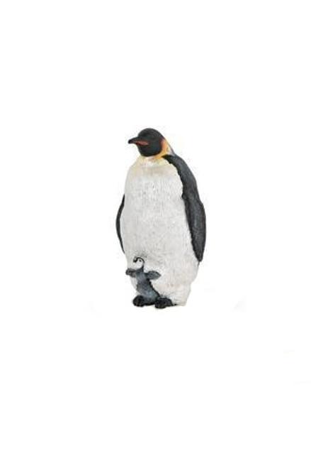 Emperor Penguin (with chick, hiding - Papo)
