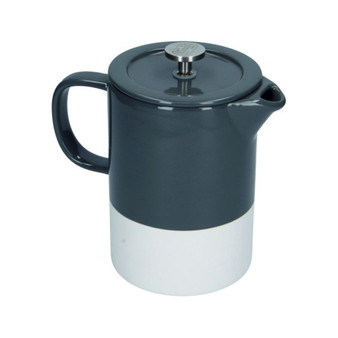 La Cafetière Barcelona Cool Grey Ceramic Cafetiere 850ml
