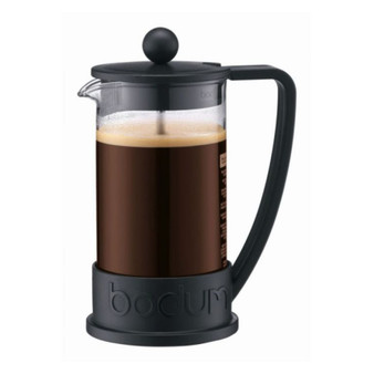 Bodum Brazil French Press Coffee Maker - 3 Cup - 0.35L - 12 OZ - Black