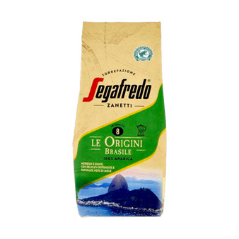 Segafredo Ground Coffee Le Origini Brazil - Brazilian Arabica Coffee - 200g