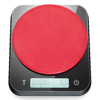 BODUM Bistro Digital Coffee Scale Black and Red