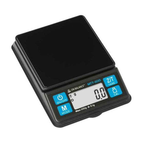 Coffee Brewing Scale