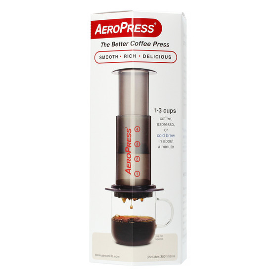 Aeropress Coffee Maker - with Filter Papers