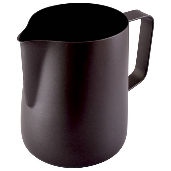 Olympia Black Non-Stick Milk Frothing Jug