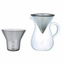 KINTO Coffee Carafe Set 600ml Stainless Steel 4 Cup