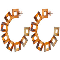 Vica Hoops Burnished