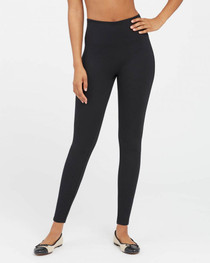 Ponte Ankle Leggings in Black