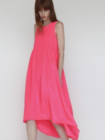 Mariel Dress in Flour Pink