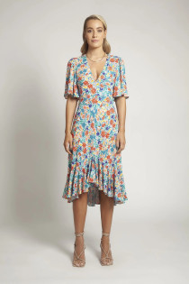 Nora Dress in Tropical