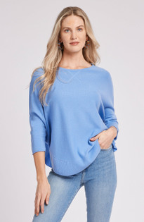Cashmere Capelet in Azure