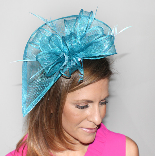 Exacta Fascinator-available in multiple colors
