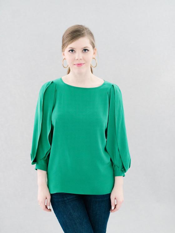Victoria Top In Emerald