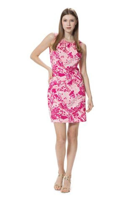 MJ Dress in Pink Untamed