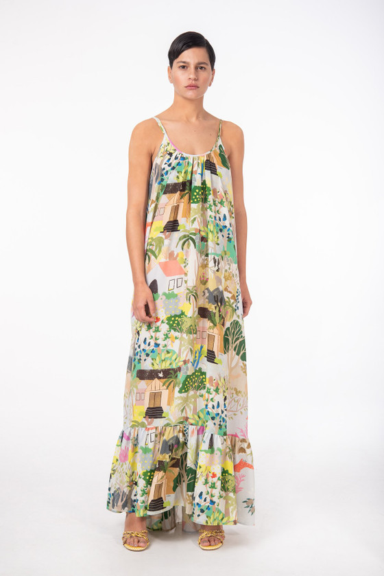 Titi Dress in Silk