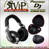 Pioneer HDJ-2000MK2-S Flagship Pro-DJ Monitor Headphones + Carrying Case *SILVER