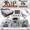 Pioneer XDJ-RX2-W DJ Controller + HDJ-1500-W Headphones + XS-XDJRX2WLT Case.