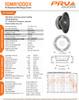 """2x PRV Audio 10MR1000X 10"""" X-treme Midrange MidBass 1000W 8-Ohm Speaker Woofer."""
