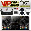 Pioneer DDJ-1000SRT 4-CH DJ Controller + XS-DDJ1000WBL Case + HDJ-1500-S + Cable