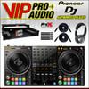 Pioneer DDJ-1000SRT 4-CH DJ Controller + XS-DDJ1000WLTBL Case + HF125 + Cables.
