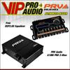 PRV A1MH PRO 2-Ohm 1 Ch. 4300W Full Range Class D Amplifier + Free DSP2.8X EQ.