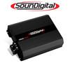 Soundigital 3300.1D POWER 3300W  1-Ohm Monoblock Car Audio Amplifier
