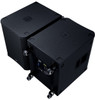 "QSC KS118 18"" Active Direct Radiating Subwoofer 3600W DJ / Club Powered Sub."