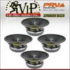 "4x PRV Audio 12MR2000X 12"" Mid Range Replacement Speaker Woofer 2000-Watts 8-0hm"