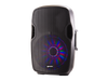 "Gemini AS-15BLU-LT-PK 15"" Powered Speaker Color LED Woofer Light, Stand & Mic"
